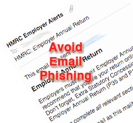 Avoid Email Phishing, Holloway Cook
